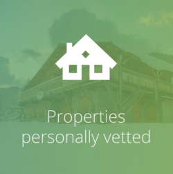 Vetted properties icon